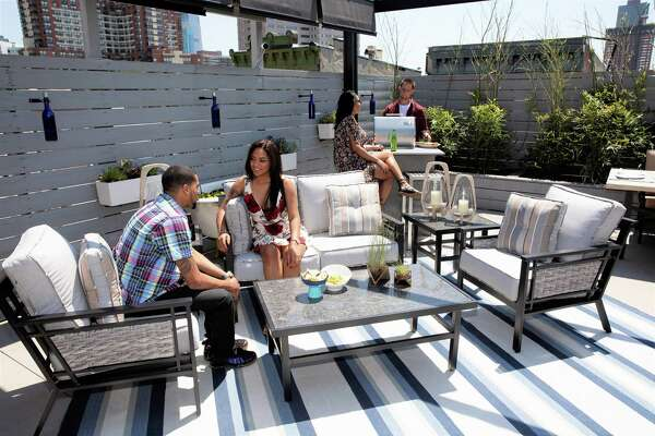Patio Furniture Makers.Hottest Trend In Outdoor Furniture Is Indoor Comforts Expressnews Com