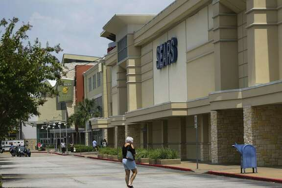 The Sears store at Memorial City Mall is reported to be closing later this year, Thursday, Aug. 23, 2018 in Houston.