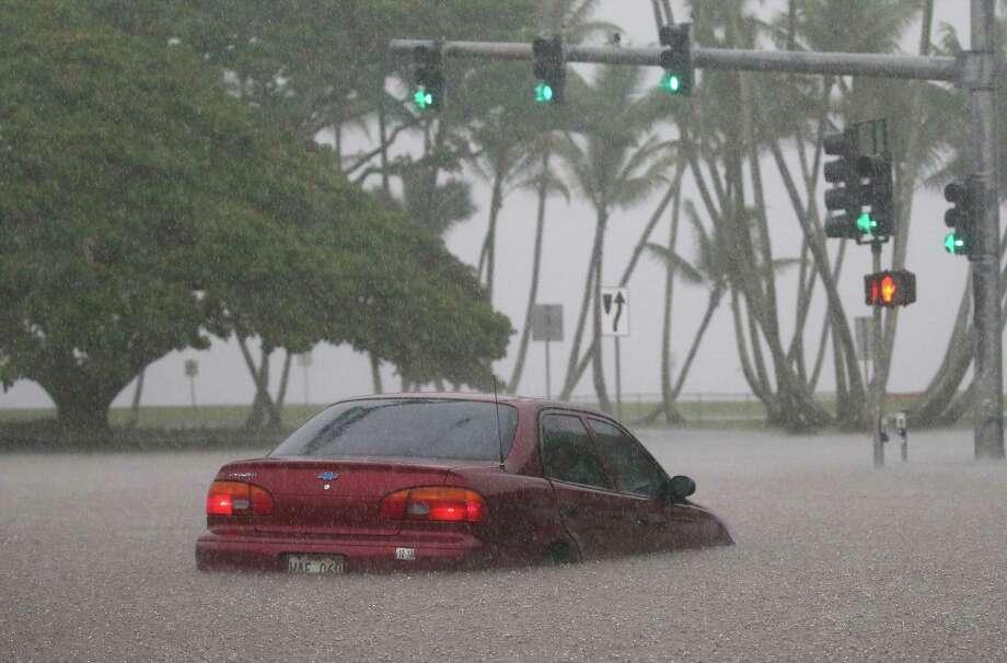 Car Crash    Big Island Hawaii