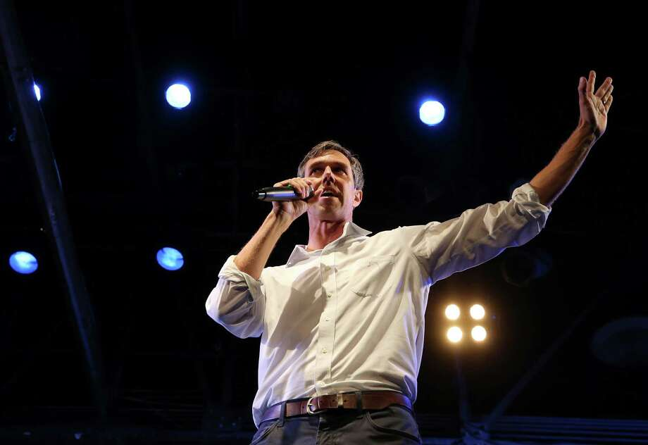 "U.S. Senate candidate Beto O'Rourke talks to the crowd gathered at the ""Bands with Beto"" rally in Warehouse Live Thursday, Aug. 23, 2018, in Houston. Photo: Godofredo A. Vasquez, Staff Photographer / 2018 Houston Chronicle"