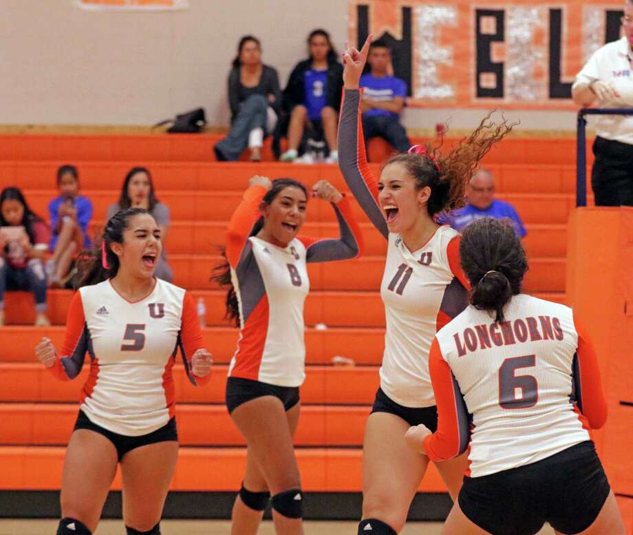 United junior Lauren Arzuaga has already recorded 1,100 career kills and still has one more season with the Lady Longhorns. Photo: Clara Sandoval / Laredo Morning Times