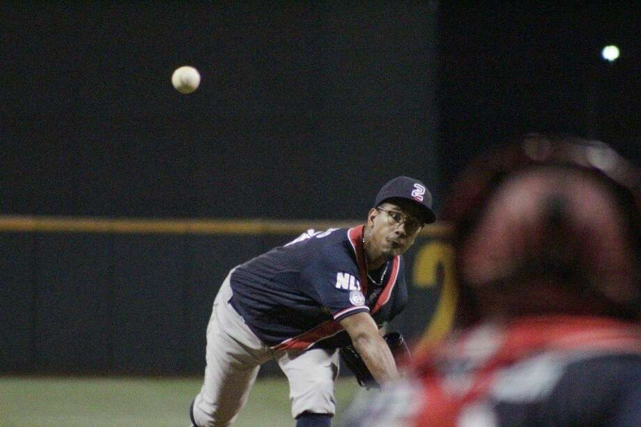 Starting pitcher Alexis Candelario earned his first win of 2018 as the Tecolotes Dos Laredos hung on in the ninth inning for an 8-7 victory at Saraperos de Saltillo, avoiding a three-game road sweep. Photo: Courtesy Of The Tecolotes Dos Laredos, File