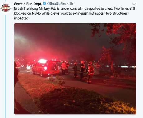 . Photo: Seattle Fire Department