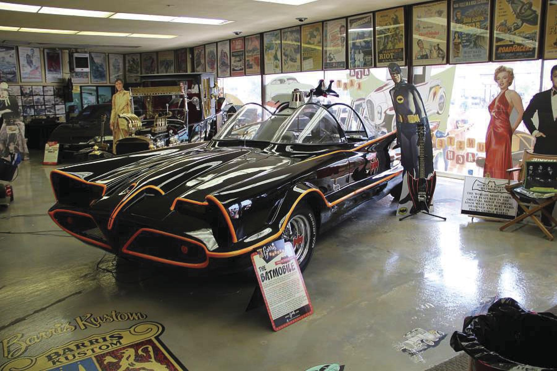 Eager fans, patrons camp overnight to buy George Barris' memorabilia