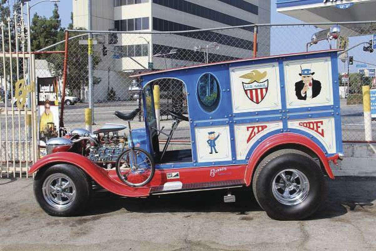 Shown is George Barris' mail truck. (Heidi Van Horne photo)