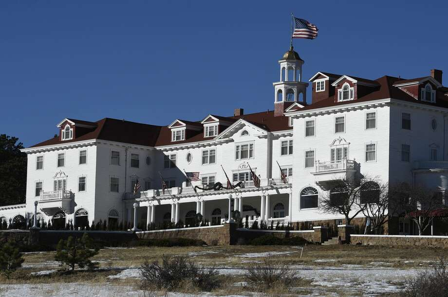 "The beautiful Stanley Hotel on January 12, 2016 in Estes Park, Colorado. The hotel is located 10.4 miles from the Rocky Mountain National Park. The grand, upscale hotel dates back to 1909. The Stanley Hotel, known for its architecture, magnificent setting, and famous visitors, may possibly be best known today for its inspirational role in the Stephen King's novel, ""The Shining."" This Colorado hotel has been featured as one of America's most haunted hotels and with the numerous stories from visitors and staff. (Photo by Helen H. Richardson/The Denver Post via Getty Images) Photo: Helen H. Richardson/Denver Post Via Getty Images"