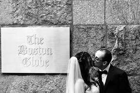 Jaclyn Rose Reiss and Matthew Rocheleau were married on July 21 in Boston.