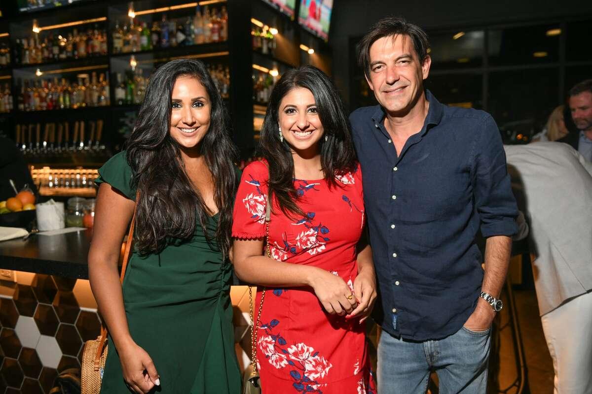 Priyanka Bins, Megha Tejpal and Stuart Rosenberg
