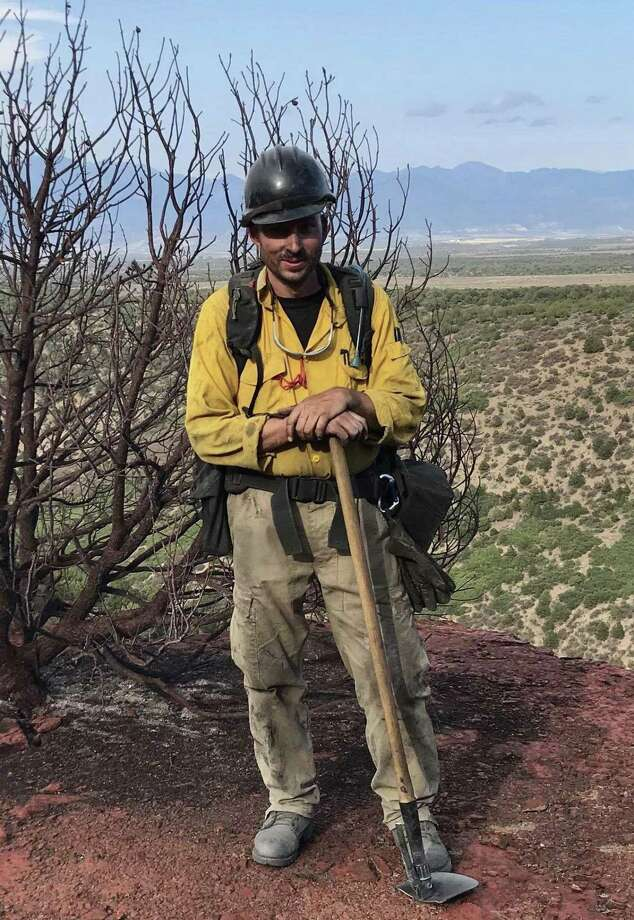 Michael Kronick, deputy chief of the Westport Fire Department, deployed to Colorado from July 27 to Aug. 12 to help fight the Buttermilk and Green Mountain fires. Photo: Contributed Photo / Westport News contributed