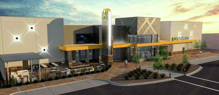 Flix Brewhouse, a combination movie theater and brewpub, is planned for San Antonio's Far West Side, according to a state filing. Photo: Courtesy OfTrammell Crow Co. /Trammell Crow Co.
