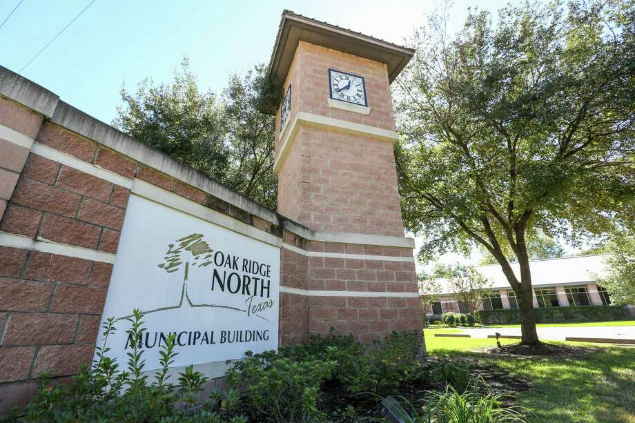 The Oak Ridge North Municipal Building is pictured on Monday, Oct. 23, 2017. Photo: Michael Minasi, Staff Photographer / Houston Chronicle / © 2017 Houston Chronicle