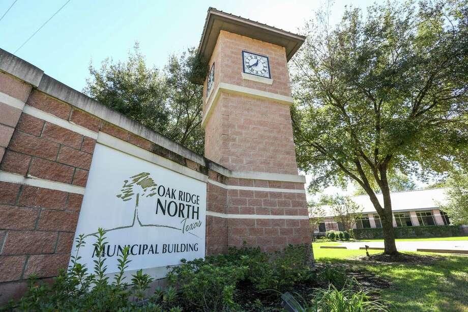 The Oak Ridge North Municipal Building is pictured on Monday, Oct. 23, 2017. Photo: Michael Minasi, Staff Photographer / Houston Chronicle / © 2017 Houston Chronicle