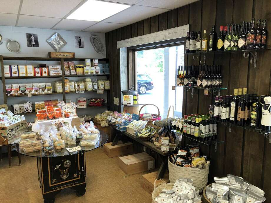 Cheshire native Gina Rossi Priest recently purchased Bon Appetit, keeping the longtime specialty grocery store open in Hamden. Photo: Ben Lambert / Hearst Connecticut Media