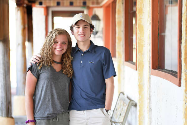 Melody Hare and Dylan Hare are twin siblings who were in kindergarten when Hurricane Rita struck Southeast Texas and where seniors in high school when Tropical Storm Harvey flooded the area. Photo by Guiseppe Barranco, 8/17/18