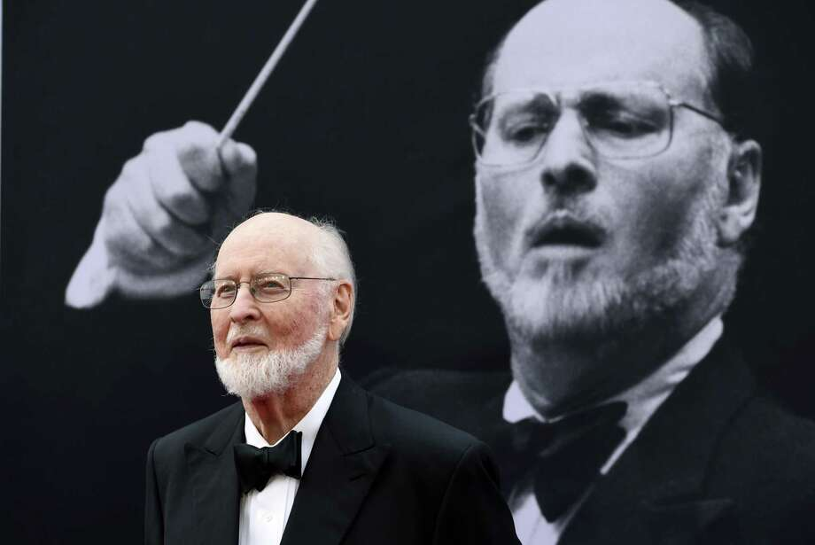 In this June 9, 2016 file photo, composer John Williams poses on the red carpet at the 2016 AFI Life Achievement Award Gala Tribute to John Williams at the Dolby Theatre in Los Angeles. A tribute to the music of John Williams is set for Sept. 4 at The Cynthia Woods Mitchell Pavilion in The Woodlands featuring the Houston Symphony. Photo: Chris Pizzello, INVL / Associated Press / Invision