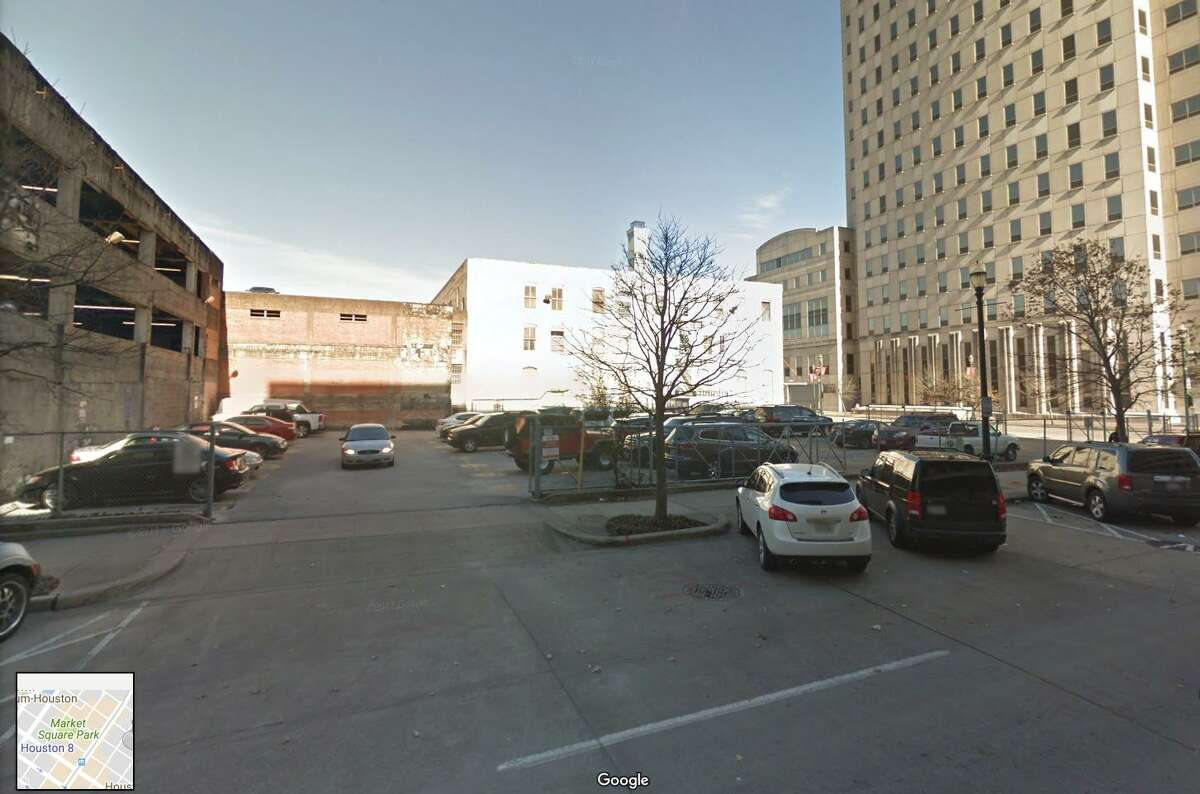 1115 Franklin is a parking lot today, but it was the site of one of Houston's first commercial barbecue stands.