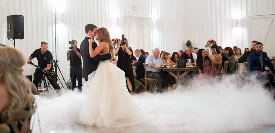 Olivia Westerman and Tyler Dixon tie the knot in Montgomery Photo: Quy Ngo