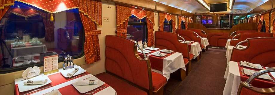 The dining room of the Russian Grand Express Photo: / Contributed Photo
