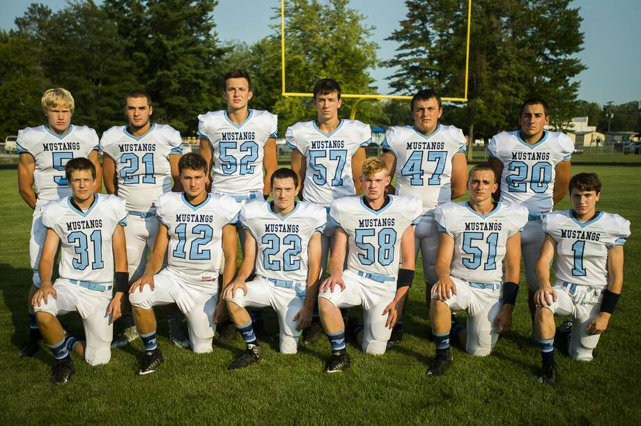 Second row: Kyle Stockford, Hunter Merillat, Gabe Brady, Alex Nohel, Adam Kielpinski, Kameron Duford First row: Bryce Dunn, Brett Barriger, Eric Kanyo, Kohl Stanek, Bryce Crowder, Ted LeViere Photo: (Katy Kildee/kkildee@mdn.net)
