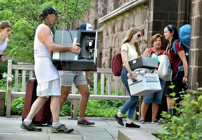 Yale University, New Haven Move-in: August 21 - 26