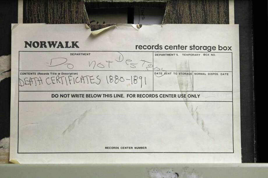 Grant Will Allow City To Preserve Death Records Older Than 150 Years