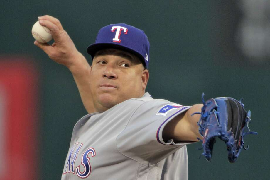 "Laredo baseball will have the opportunity to see ""Big Sexy"" Bartolo Colon pitch in the Gateway City this year as the Mexican Baseball League announced Friday that the former 21-year big leaguer has signed with the Acereros de Monclova. Photo: Carlos Avila Gonzalez, The Chronicle"