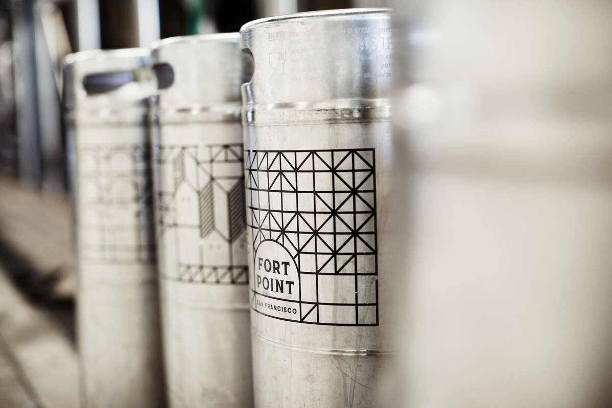 Kegs at Fort Point Beer Company. The Best Beer Tours at San Francisco Breweries >>>>