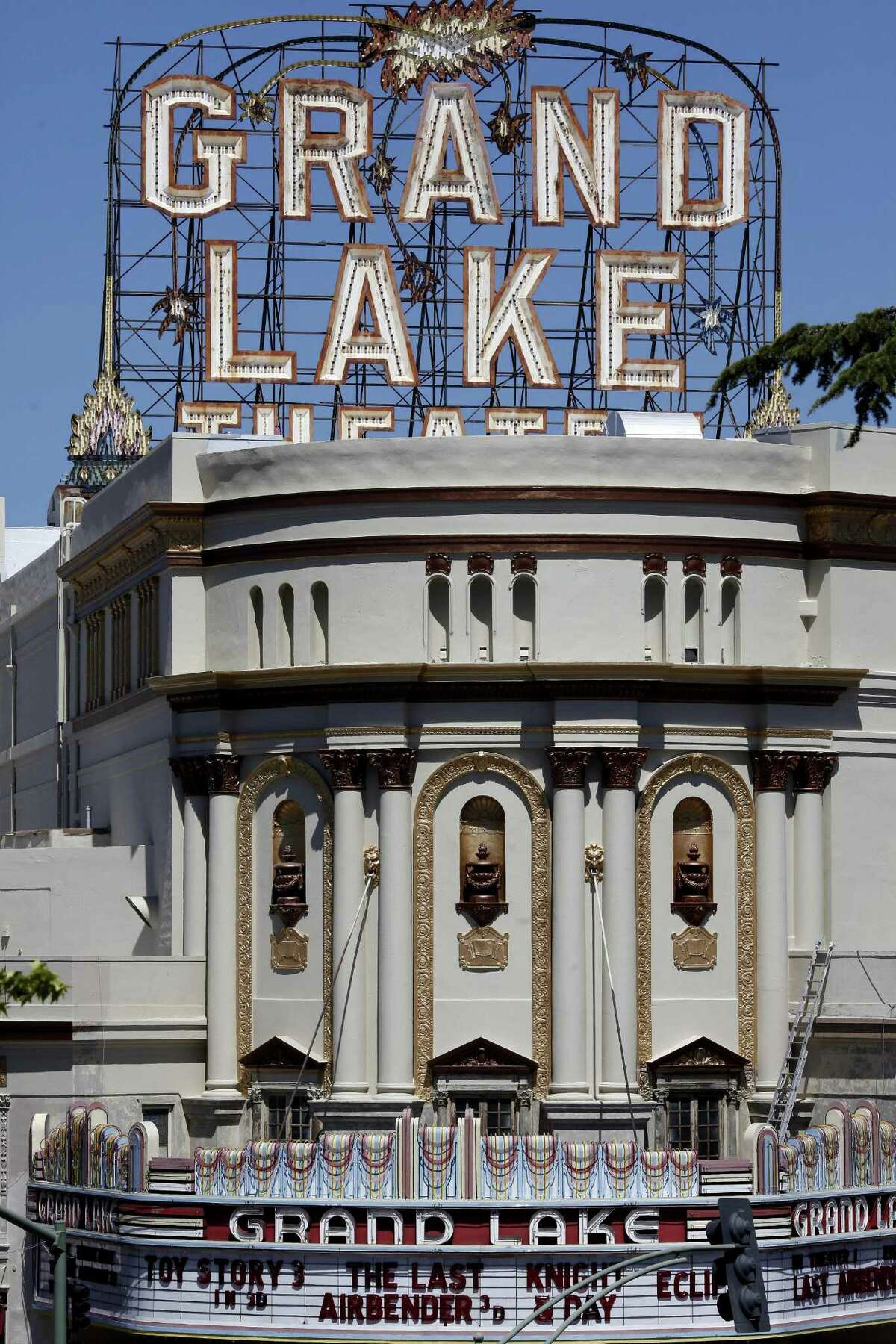 The Grand Lake Theatre is the last theater run by Allen Michaan, who used to have more than a dozen theaters in the Bay Area.