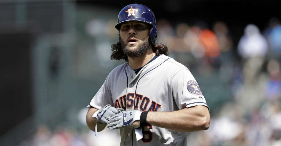 PHOTOS: Astros game-by-game Houston Astros Jake Marisnick walks on the field against the Seattle Mariners in a baseball game Wednesday, Aug. 1, 2018, in Seattle. (AP Photo/Elaine Thompson) Browse through the photos to see how the Astros have fared in each game this season. Photo: Elaine Thompson/Associated Press