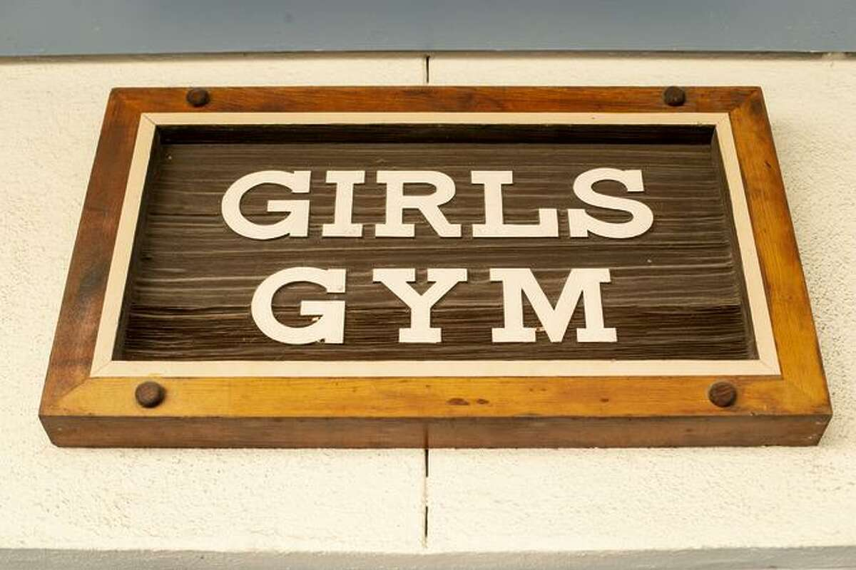 The Girls Gym at Oakland Technical High School, Friday, Aug. 24, 2018.