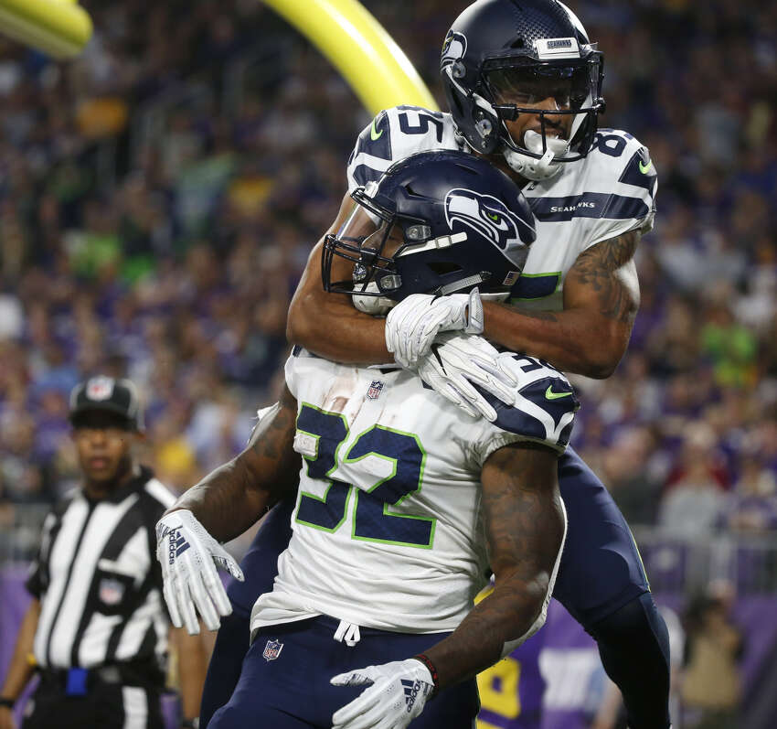 Run game looked good -- like, really good. The Seahawks' run game looked the best it has all preseason Friday night and the team recorded its first rushing score since last season. Chris Carson, Mike Davis and C.J. Prosise combined for 75 rushing yards on 19 carries. The offensive line did their job in run blocking, creating many of those opportunities for the tailback trio. There was a lot for the Seahawks to like on the ground against the Vikings, who boast one of the best defenses in the NFL. Carson capped the Seahawks' second drive of the game -- a 12-play, 75-yard series -- with a six-yard touchdown run. Fun fact: the score marked Seattle's first rushing touchdown by a tailback since Week 4 of last season.