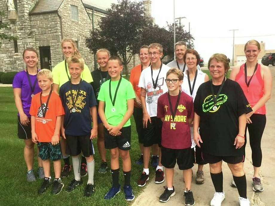 Pictured are the winners of The Mustard Seeds 4th Annual 5K Walk-a-thon/Run that took place in Ruth. (Submitted Photo)