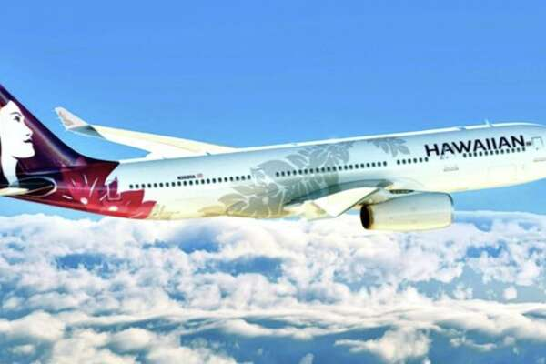 Hawaiian Airlines will drop Honolulu-Beijing flights in October. (Image; Hawaiian)