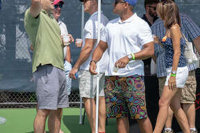 The CT Open was held at the Connecticut Tennis Center at Yale in New Haven August 17-25, 2018. A Beerfest was held on August 25. Were you SEEN?