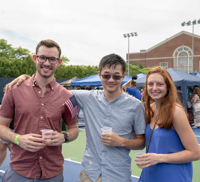 The CT Open was held at the Connecticut Tennis Center at Yale in New Haven August 17-25, 2018. A Beerfest was held on August 25. Were you SEEN? The CT Open was held at the Connecticut Tennis Center at Yale in New Haven August 17-25, 2018. A Beerfest was held on August 25. Were you SEEN?