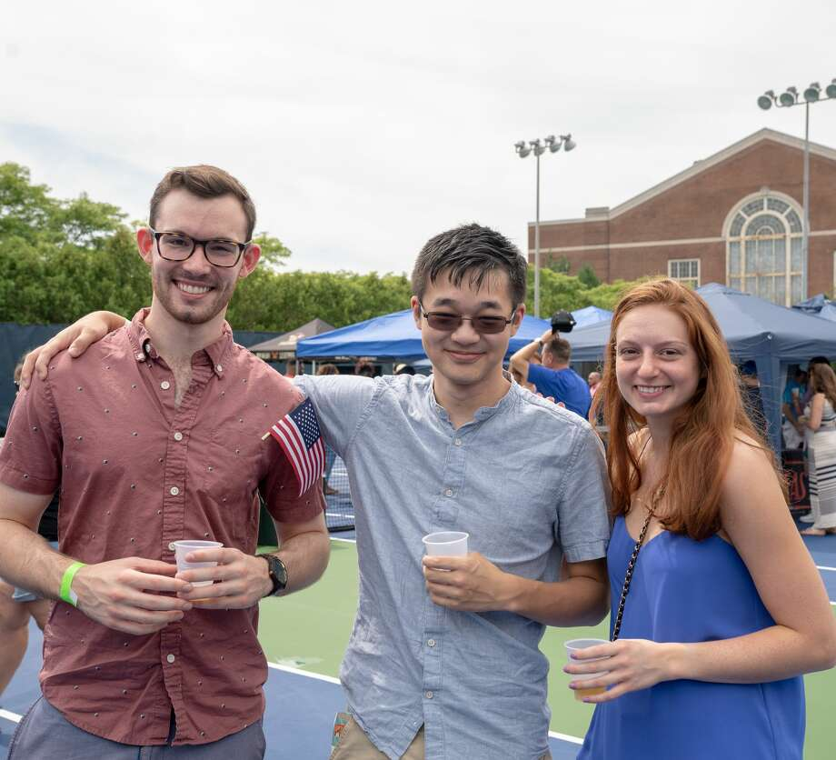The CT Open was held at the Connecticut Tennis Center at Yale in New Haven August 17-25, 2018. A Beerfest was held on August 25. Were you SEEN? The CT Open was held at the Connecticut Tennis Center at Yale in New Haven August 17-25, 2018. A Beerfest was held on August 25. Were you SEEN? Photo: Kaylah Gore