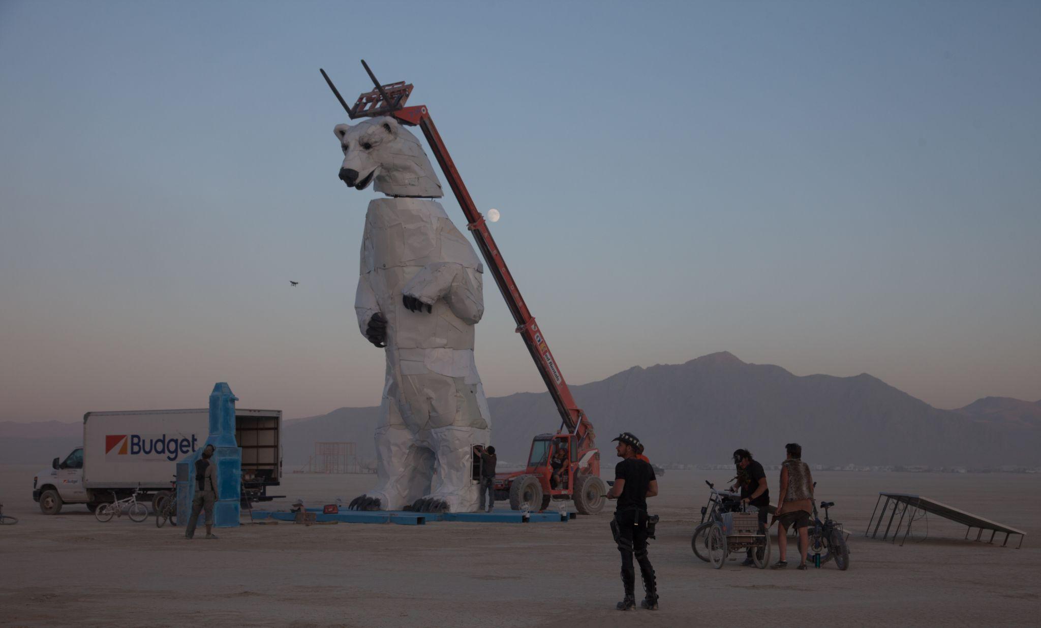 Burning Man Trucks