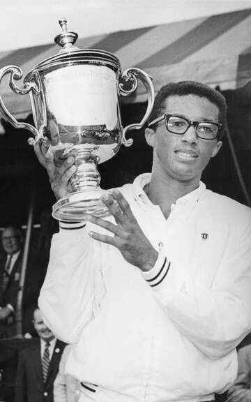 The U.S. Open begins, with memories of Arthur Ashe