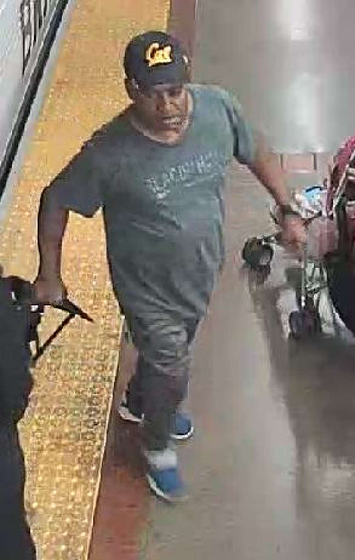 BART Police are asking for the public's help in identifying this man, a person of interest in a stabbing at the MacArthur Station in Oakland on Saturday August 26, 2018.