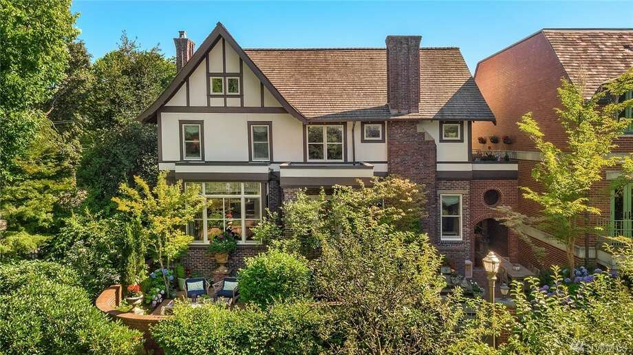 With connections to such Seattle elite as the Yeslers, the Nordstroms, and the Bauers, this home- the only single family residence in Merrill Court on Capitol Hill-- asks $3.250M Photo: Amaryllis Lockhart Via Avenue Properties