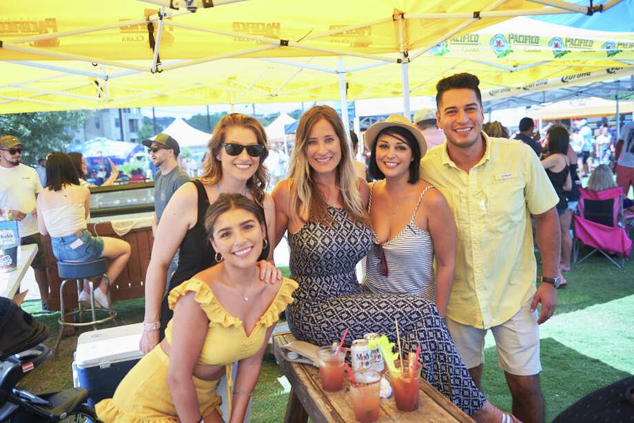San Antonio gathers to find the best Michelada drink in the city at Michelada Mayhem! on August 26, 2018. Photo: Chavis Barron