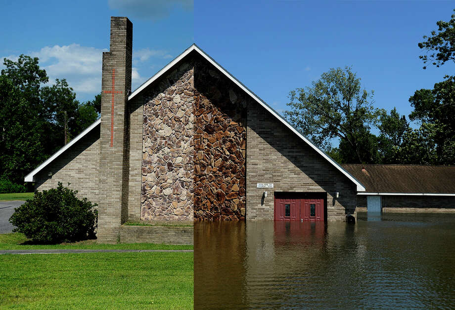 THEN AND NOW: Photos of Harvey in SE Texas / ©2017 The Beaumont Enterprise/Ryan Pelham