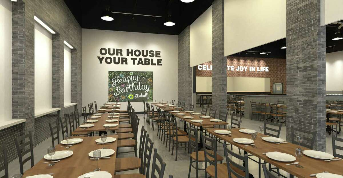 The owners of Spaghetti Warehouse are bringing a new concept to Houston in Warehouse 72 featuring a new menu that includes Spaghetti Warehouse classic dishes. Opening winter 2018 at Silber and I-10. Shown: Renderings of Warehouse 72.
