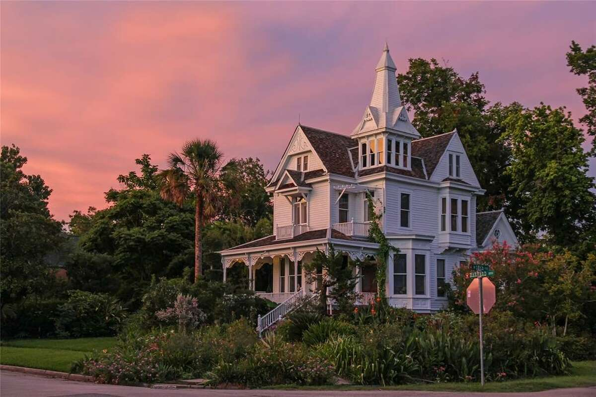This historic Heights Victorian mansion, carriage house and guest house on a 21,120-square-foot lot has been listed for sale. The owner was the late preservationist Bart Truxillo.