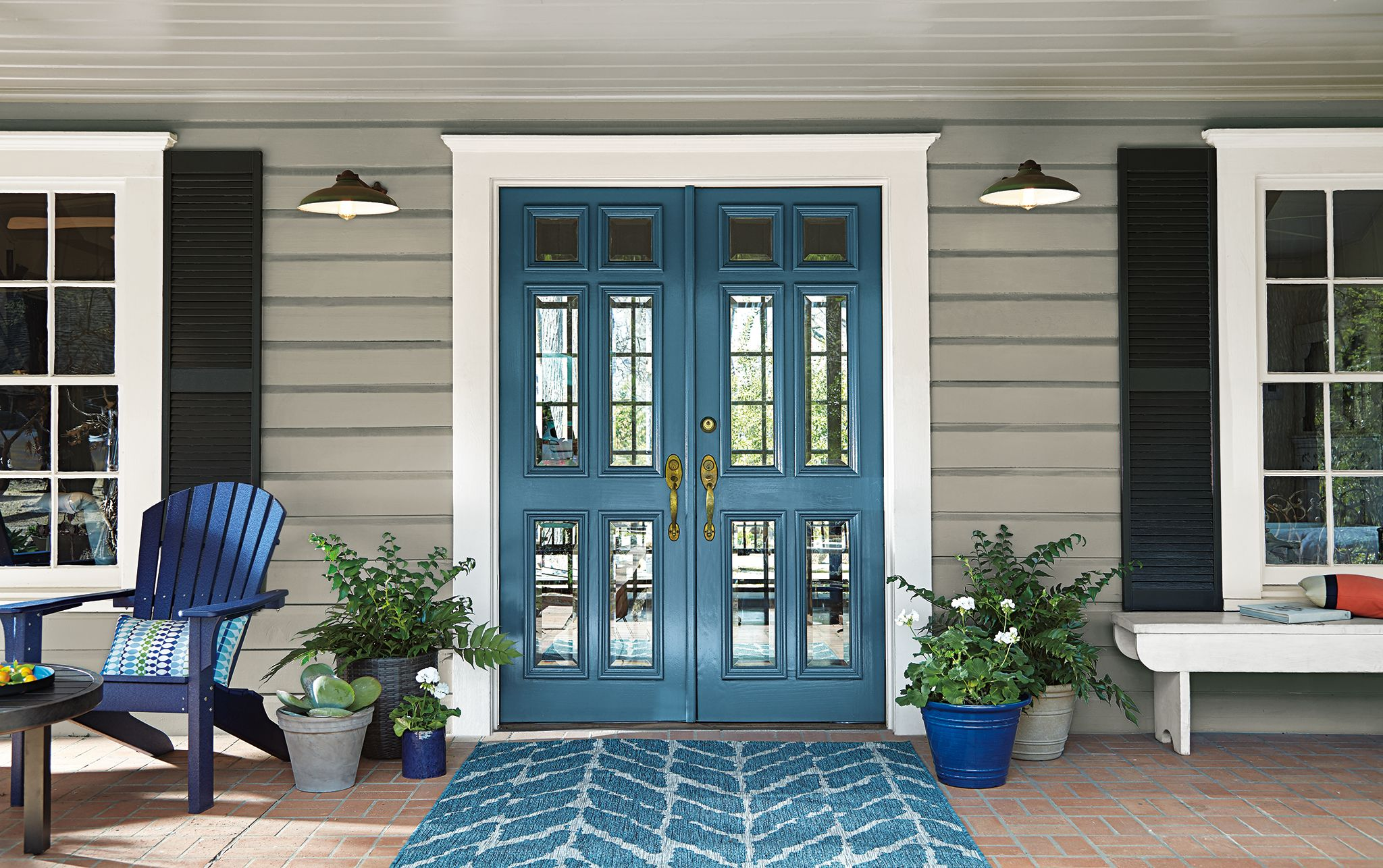 Behr Paint Goes Deep With Quot Blueprint Quot As Its 2019 Color Of