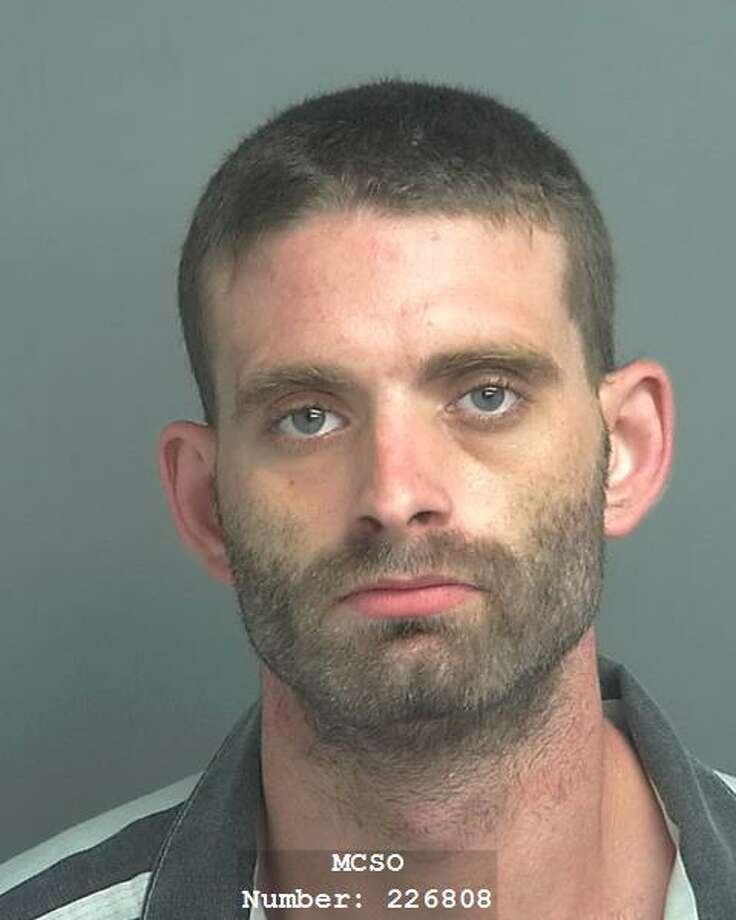 PHOTOS: Crimes caught on cameraJoshua Pratt faces charges of unlawful possession of a firearm by a felon, theft of firearm, vehicle burglary and home burglary in Montgomery County after his arrest on Aug. 22, 2018.>>>See other recent crimes caught on surveillance cameras in the Houston area... Photo: Montgomery County Jail