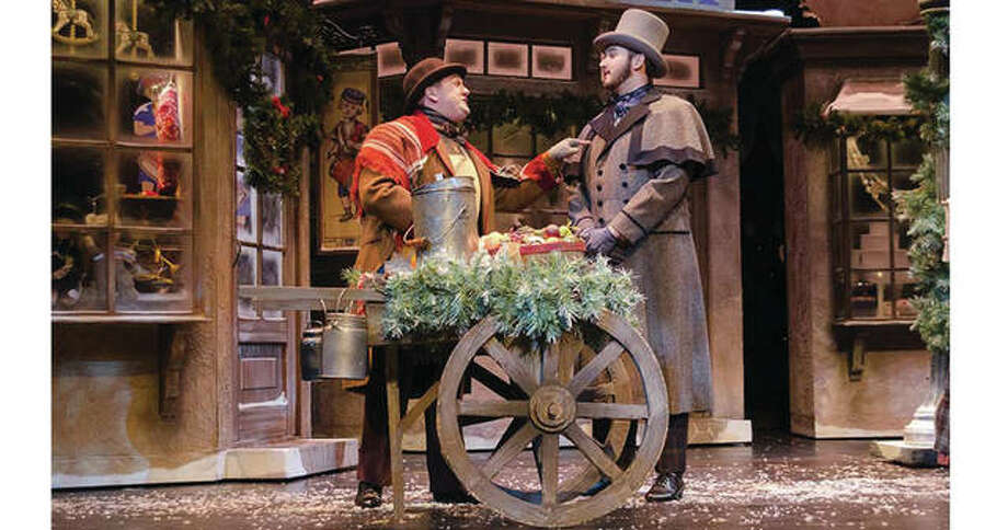 "A scene from ""A Christmas Carol."" Photo: Courtesy Of The Fox Theatre"