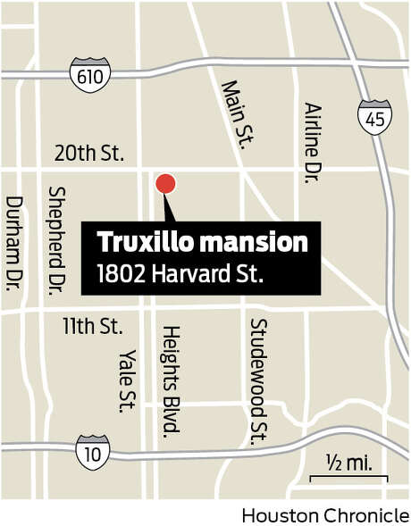 The Truxillio mansion is located at 1802 Harvard Street. Photo: Charles Apple / Houston Chronicle