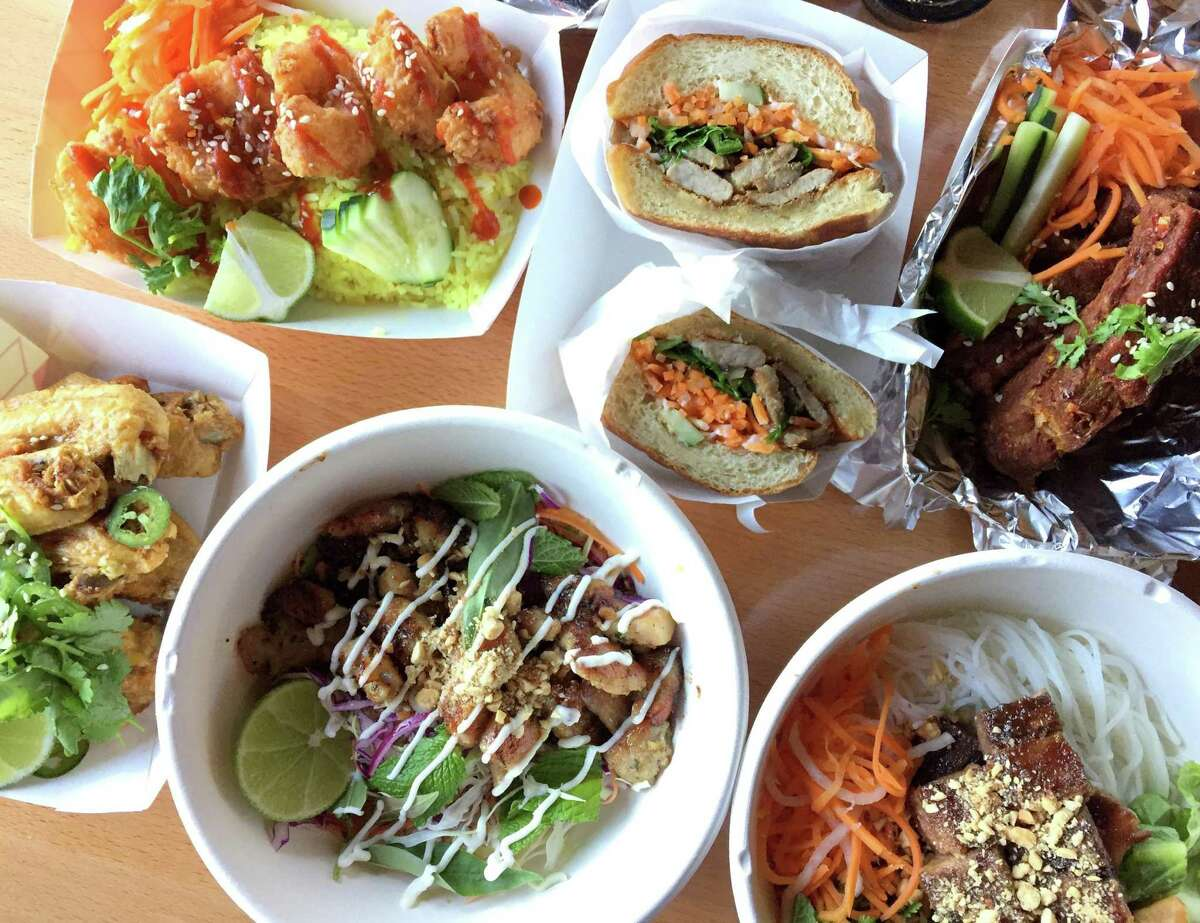 Selection of menu items from Singhs Vietnamese, which is now open at 2803 N. St. Mary's St.