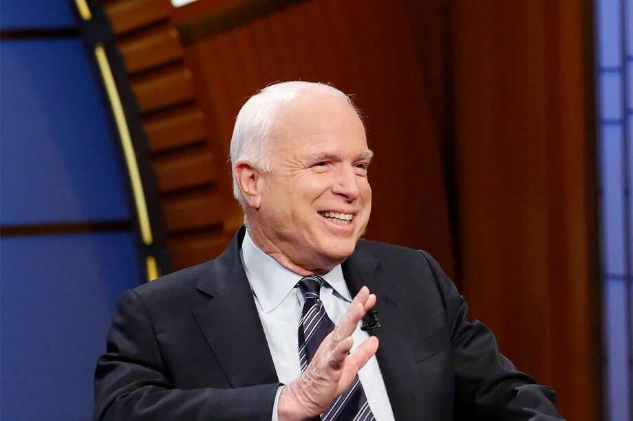 John McCain Photo: NBC   Getty Images